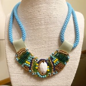 Gorgeous statement necklace—Aztec design